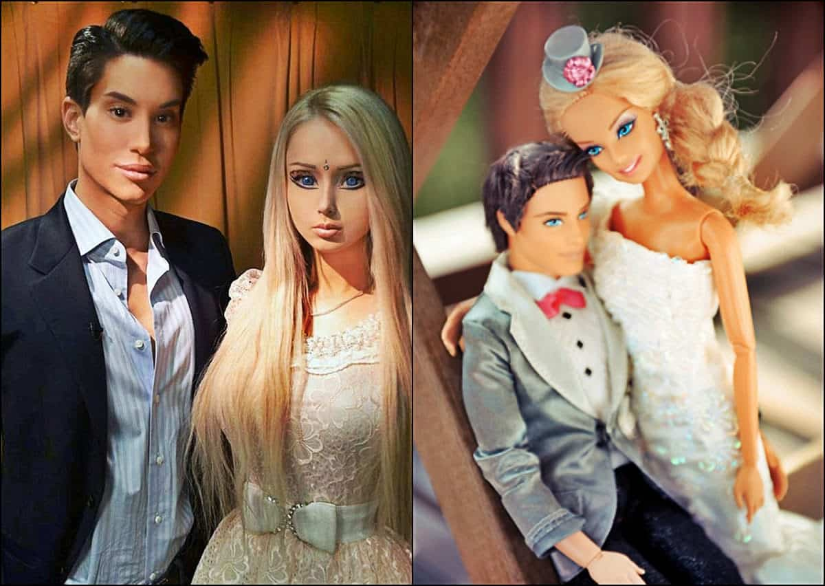 Human Barbie And Human Ken — Life In Plastic Is Fantastic?