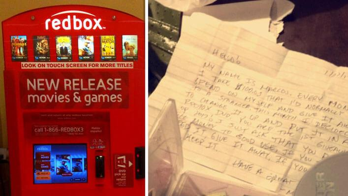 Woman Opens Her Rented DVD To Find A Strange Note And Cash Inside The Box