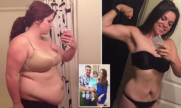 Woman Loses Half Her Size After Being Dumped By Cheating Boyfriend