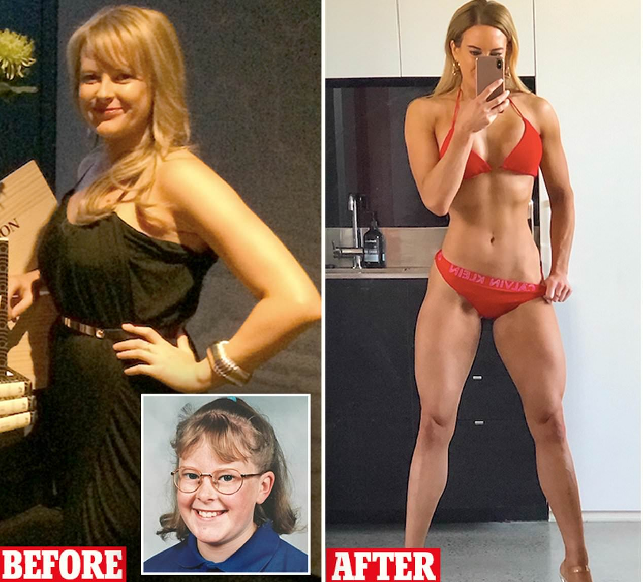 Chubby Girl Bullied At School Turns To Bodybuilding — Look At Her Now!