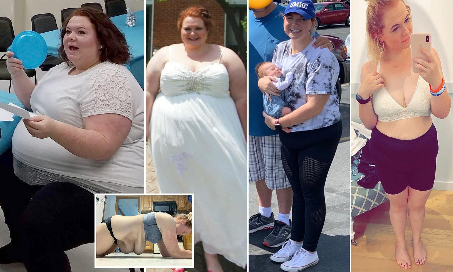 25-Year-Old Woman Loses 200 Pounds After Being Bullied For Years