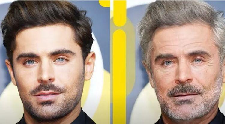 The Old Versions Of Celebrities: This Is How They'd Look Like
